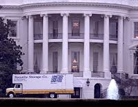 Moving day at the White House