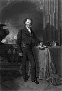 Martin van Buren standing portrait