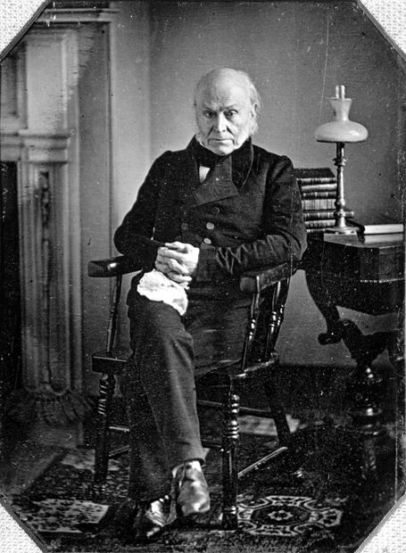 John Quincy Adams first president to be photographed