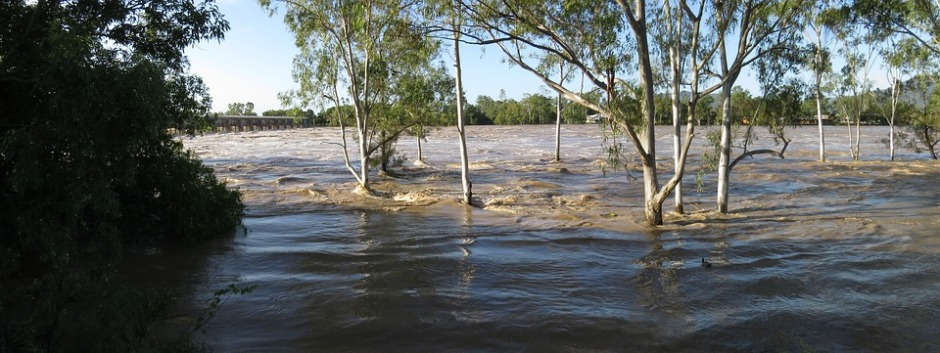 floodwaters rising swiftly