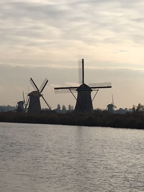 Windmills in Kinderdijk, South Holland