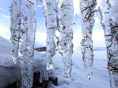 Thick icicles