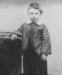 "William Wallace ""Willie"" Lincoln as a young boy"