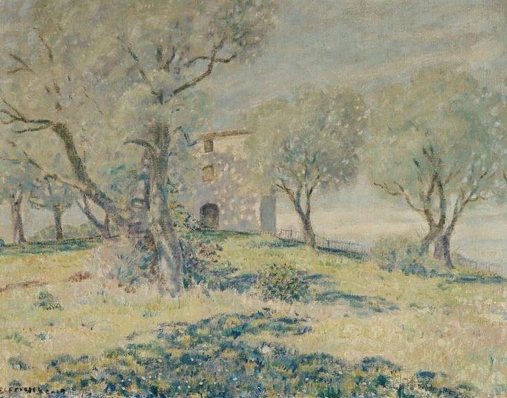 Frederick Carl Frieseke - Spring Landscape, Cagnes
