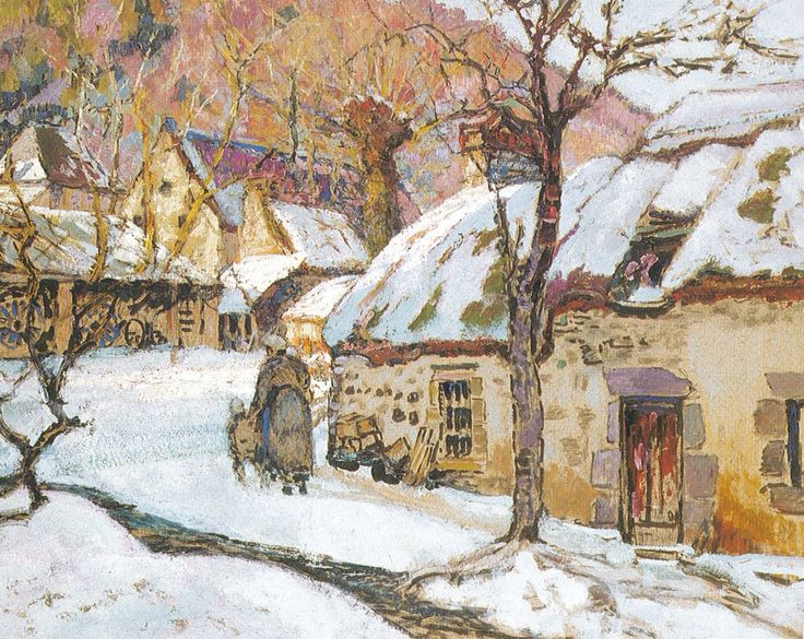 Victor Charreton 1864-1936, post-impressionist painter