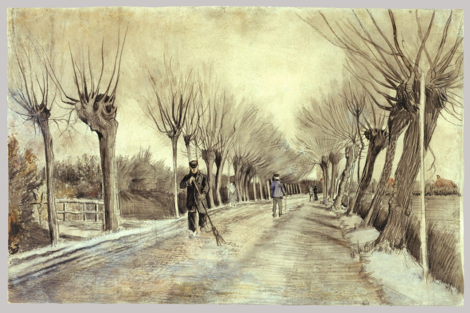 Road in Ettenberg, Vincent van Gogh
