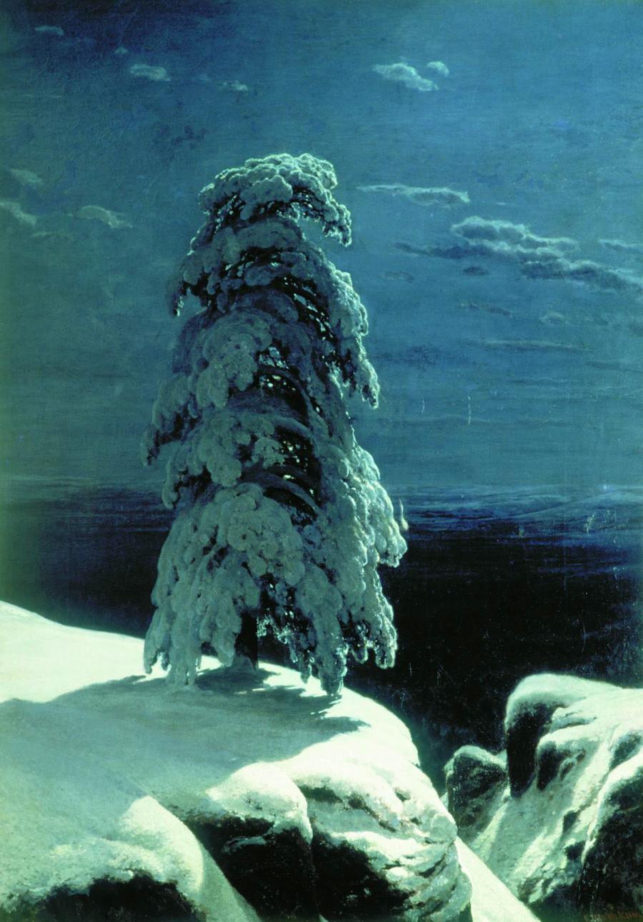 """Ivan Shishkin's """"In the Wild North"""", 1891"""