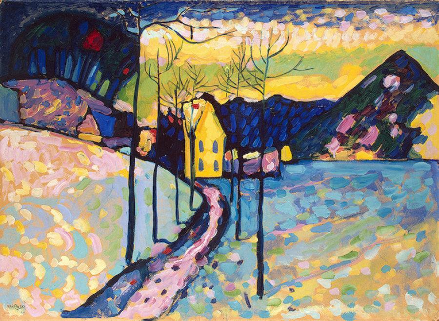 """Wassily Kandinsky's """"Winter Landscape"""""""