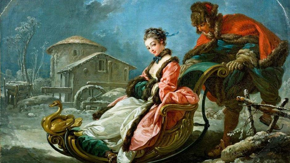 Winter by Francois Boucher (1755)