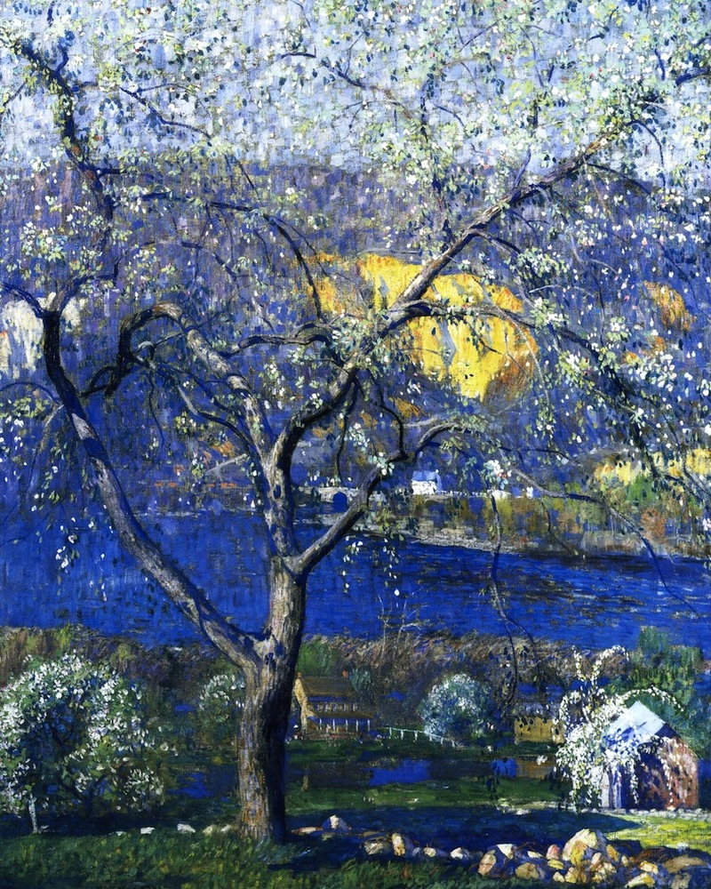 Daniel Garber's Buds and Blossoms