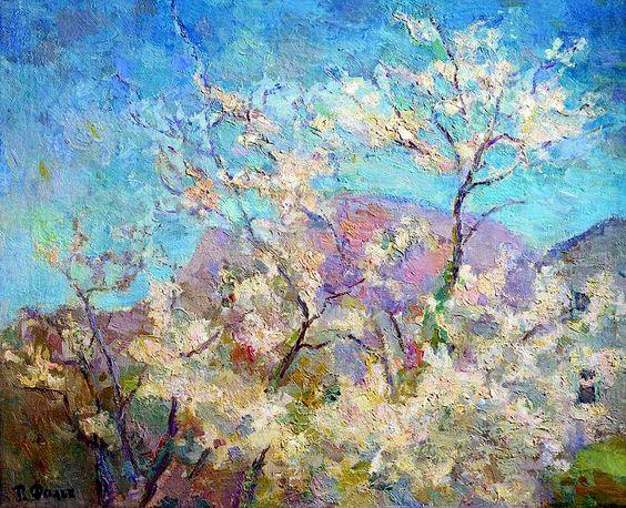 Robert Falk's Spring in Crimea, 1938